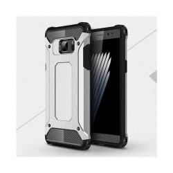 Flexibelt Hybrid Skal för Samsung Galaxy Note 7 - Silver