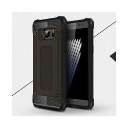 Flexibelt Hybrid Skal för Samsung Galaxy Note 7 - Svart