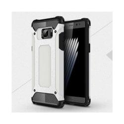 Flexibelt Hybrid Skal för Samsung Galaxy Note 7 - Vit
