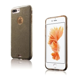 Frederik Glitter Hybrid Skal för iPhone 7 Plus / 8 Plus - Gu