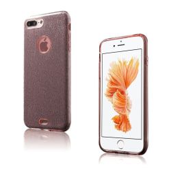 Frederik Glitter Hybrid Skal för iPhone 7 Plus / 8 Plus - Ro