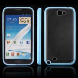 Frosty Ice Back (Ljusblå) Samsung Galaxy Note 2 Skal