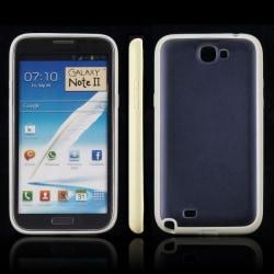 Frosty Ice Back (LjusGul) Samsung Galaxy Note 2 Skal