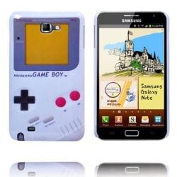 Game Boy (Vit) Samsung Galaxy Note Skal