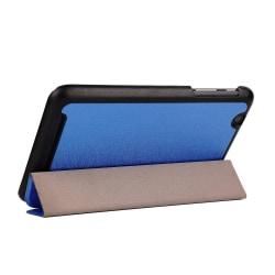 Garff Silk Acer Iconia One 7 Fodral med Tre Veck - Blå