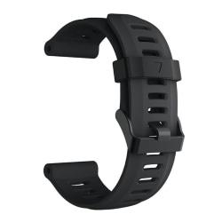 Garmin Fenix 5X / Fenix 3 silicone watchband - Black