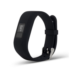 Garmin Vivofit 3 Enfärgat silikon klockband - Svart