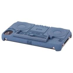 Ghetto Blaster (Blå) iPhone 4/4S Skal