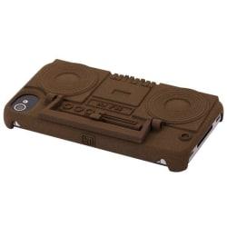 Ghetto Blaster (Brun) iPhone 4/4S Skal