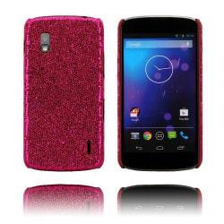 Glitter (Rosa) LG Google Nexus 4 Skal