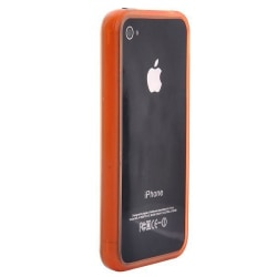 Glow in the Dark (Orange) iPhone 4/4S-Bumper