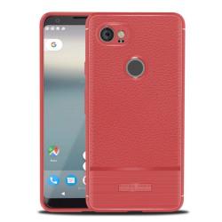 Google Pixel 2 XL och XL2 mobilskal TPU material litchi text