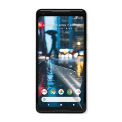 Google Pixel 2 XL Tre pack skydds film - Genomskinlig