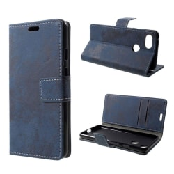Google Pixel 3 mobilfodral syntetläder silikon plånbok ståen