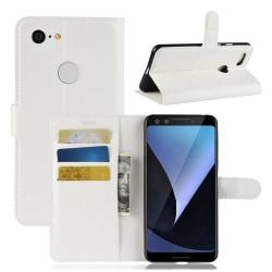 Google Pixel 3 mobilfodral syntetläder silikon stående plånb