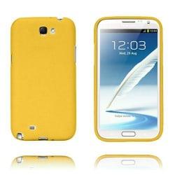 Grid (Gul) Samsung Galaxy Note 2 TPU-Skal