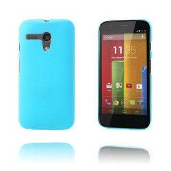 Hard Shell (Ljusblå) Motorola Moto G Skal