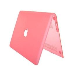 Hårdskal Transparent (Rosa) Skyddsskal för Macbook Air 13.3