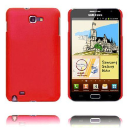 Hårdskal (Vinröd) Samsung Galaxy Note Skal