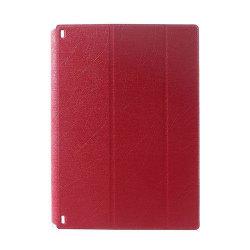 Hazel Lines Lenovo Yoga Tablet 2 10.1 Stativ Fodral - Röd