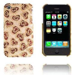 Heart Beat (Brun) iPhone 3GS Skal