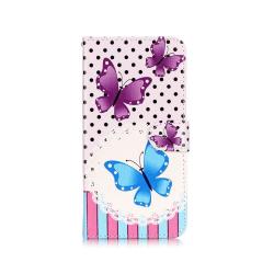 Holberg Läderfodral för Samsung Galaxy Note 7 - Fjärilar