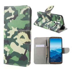 Huawei Mate 10 Pro Fodral med modernt motiv - Camouflage