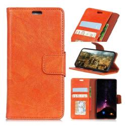 Huawei Mate 10 Pro Slitstarkt läder fodral - Orange