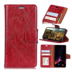 Huawei Mate 10 Pro Slitstarkt läder fodral - Röd