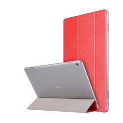 Huawei MediaPad M3 Lite 10.1 Enfärgat läder fodral - Röd