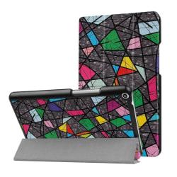 Huawei MediaPad T3 8.0 Läder fodral med unikt motiv - Färger