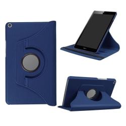 Huawei MediaPad T3 8.0 Roterbart fodral - Mörk blå