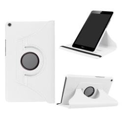Huawei MediaPad T3 8.0 Roterbart fodral - Vit
