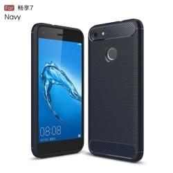 Huawei P9 Lite Mini Skal i miljövänligt material - Mörk blå