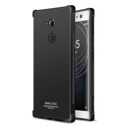 IMAK Sony Xperia XA2 Ultra Skal som flexibelt - Metall svart