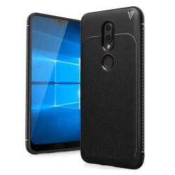 IVSO Nokia 6.1 Plus - X6 mobilskal PU läder TPU värmeavledan