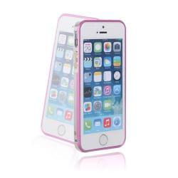 KLX (Silver/Rosa) iPhone 5/5S Aluminium Bumper
