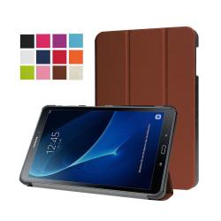 Läderfodral för Samsung Galaxy Tab A 10.1 (2016) - Brun