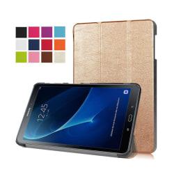 Läderfodral för Samsung Galaxy Tab A 10.1 (2016) - Guld