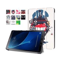 Läderfodral för Samsung Galaxy Tab A 10.1 (2016) - Monster