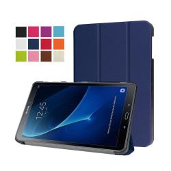 Läderfodral för Samsung Galaxy Tab A 10.1 (2016) - Mörkblå