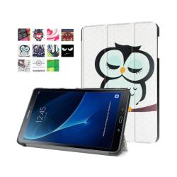 Läderfodral för Samsung Galaxy Tab A 10.1 (2016) - Sovande U