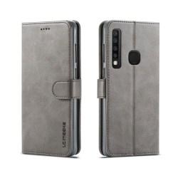 LC.IMEEKE Samsung Galaxy A9 (2018) plånboks läderfodral - Gr