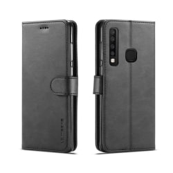 LC.IMEEKE Samsung Galaxy A9 (2018) plånboks läderfodral - Sv