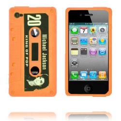 M.J. Cassette Skal (Orange) iPhone 4 & 4S Skal