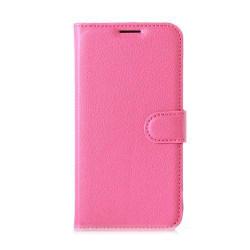Mankell Lychee Skinn Läderfodral för LG K4 - Rosa