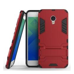 Meizu M5 Stilrent hybird skal - Röd
