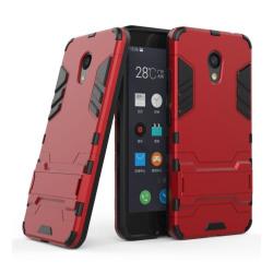 Meizu M5c Modernt hybird skal - Röd