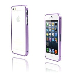 Metallix (Lila) iPhone 5 / 5S Metall-Bumper