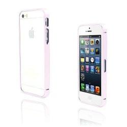 Metallix (Ljusrosa) iPhone 5 / 5S Metall-Bumper